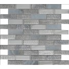 Lupano Interlocking Pattern Glass Stone Mosaic