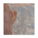 Multicolor 12X12 Flamed Slate Tile