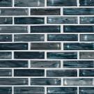 Oasis Blast 1X4X6 Glass Backsplash Tile