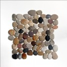 Rio 12X12 Interlocking Tumbled Pebble Tile