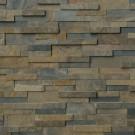 Rustic Gold 6X24 Split Face Ledger Panel