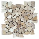 Sahara 12X12 Interlocking Designer Flat Pebble