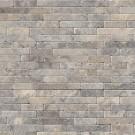 Silver Ash 8x18 Tumbled Stone Veneer