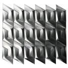 Stainless Steel 3D Interlocking Arrowhead Piazza Mosaic