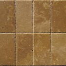 Tuscany Walnut 6x6 Chipped Edge Pavers