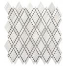 White Oak Lattice 12x12 Interlocking Mosaic