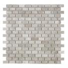 Wooden Mini Brick Marble Mosaic Tile