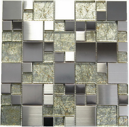 Oddysey Magic Pattern Mosaic Golden Blend Tile