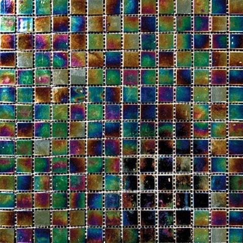 Mediterranean Twilight Opalescence Glass Mosaic